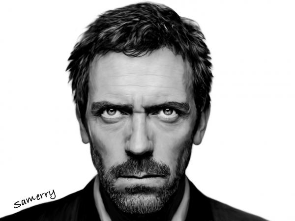 Hugh Laurie par Samerry